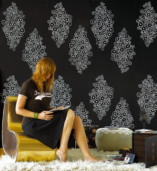Apartment Therapy's list of top online sources for wallpaper