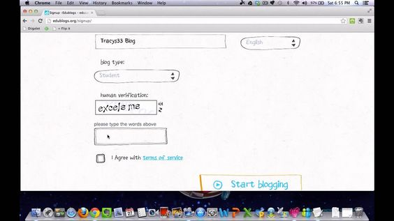 Edublogs- Register for a Student Blog and Join a Class
