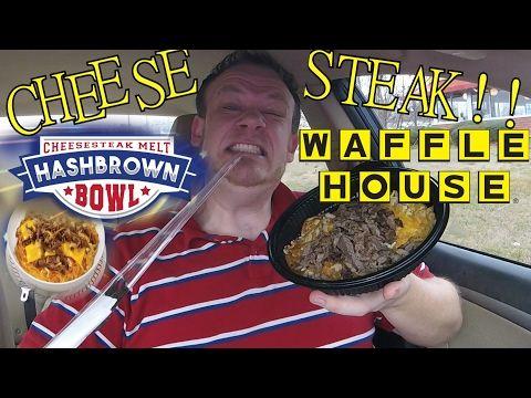 Waffle House Cheesesteak Hashbrown Bowl Food Review Youtube Hashbrown Bowl Cheesesteak Hashbrowns