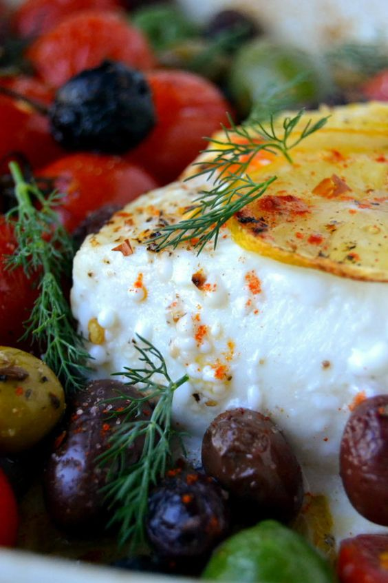 Simple greek style baked fish recipe pretty much the for Greek fish recipes