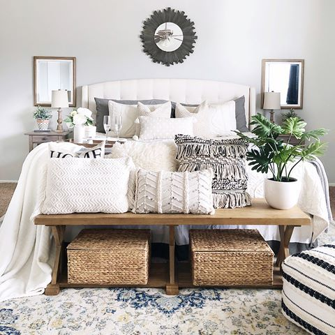 Boho Farmhouse Bedroom Boho Master Bedroom Simple Bedroom Bedroom Design