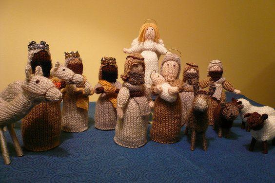 Knitting Pattern Nativity Stable : Pinterest   The world s catalog of ideas