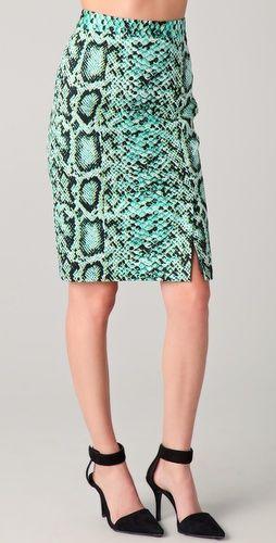 snakeprint skirt i will wear forever
