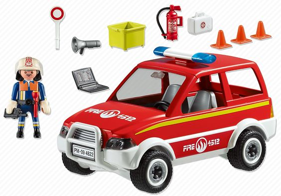 4822 voiture de pompier playmobil france kdo anniversaire calyste pinterest voitures. Black Bedroom Furniture Sets. Home Design Ideas