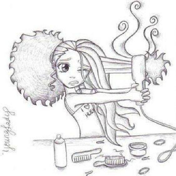 Love, love, love hair inspired art!