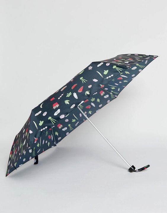 Image 1 - Monki - Fast Food - Parapluie à imprimé