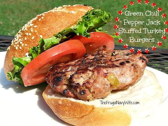 stuffed turkey green chilis turkey burgers burgers chili turkey jack o ...