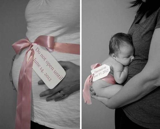 23 fotos criativas do antes e depois de ser mãe