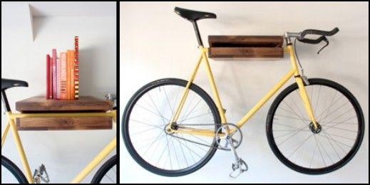 Dekoratif ve Kullanışlı Bisiklet Askısı