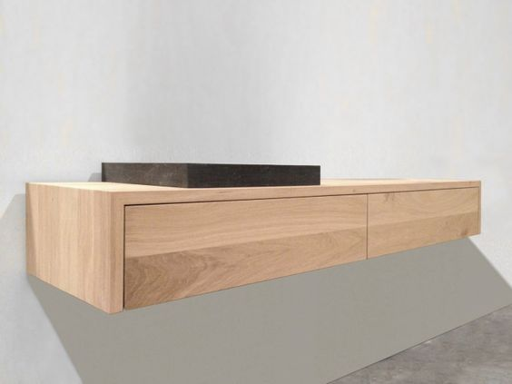 Inspirerende badkamers met mooie tegels vloeren of - Badkamer houten tegel ...