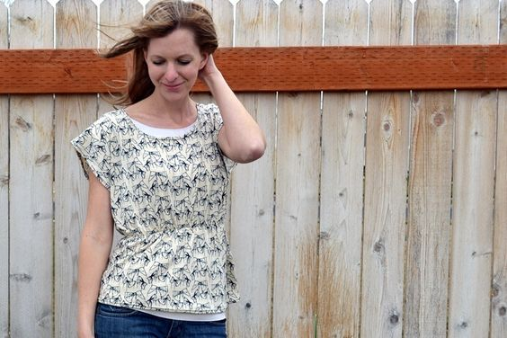 awesome easy peasy shirt tutorial by Lemon Squeezy Home!