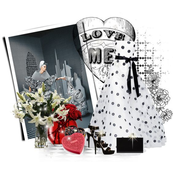 """Non-Traditional Valentine's Day"" by debpat on Polyvore"