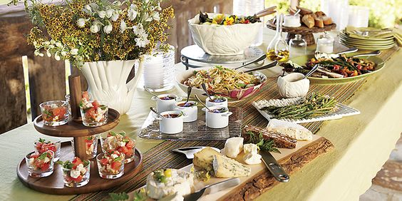 Garden Party  Crate and Barrel