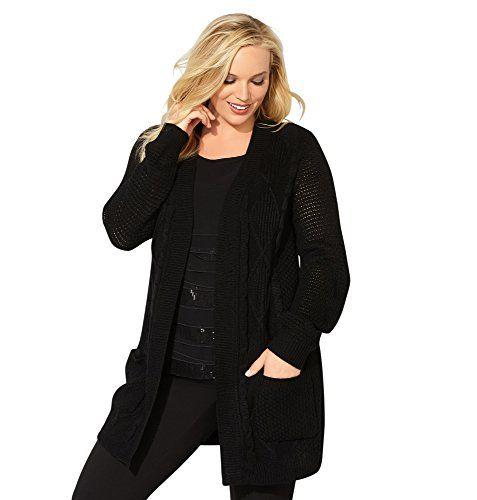 Avenue Women's Cable Knit Pocket Duster Cardigan, 22/24 B... https://www.amazon.com/dp/B01MSQEZ57/ref=cm_sw_r_pi_dp_x_BbysybG3D4BRP
