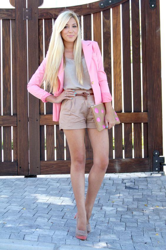 i need a pink blazer!