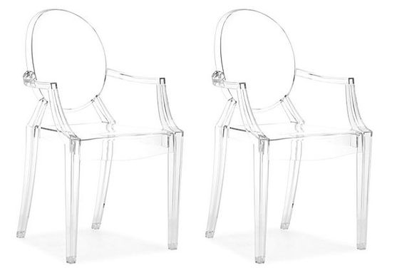<3 these clear dinning chairs,