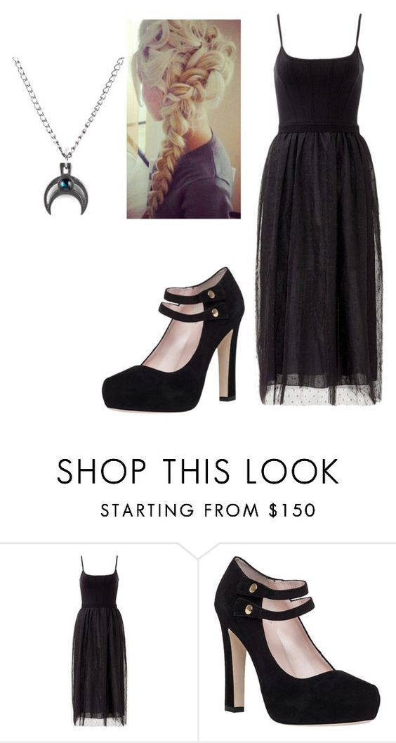 """""""Funeral #1"""" by madeinchina03 ❤ liked on Polyvore featuring RED Valentino and Kate Spade"""