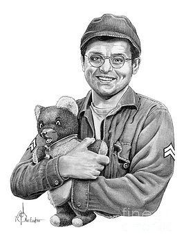 Gary Burghoff as Radar from the 1970's TV show