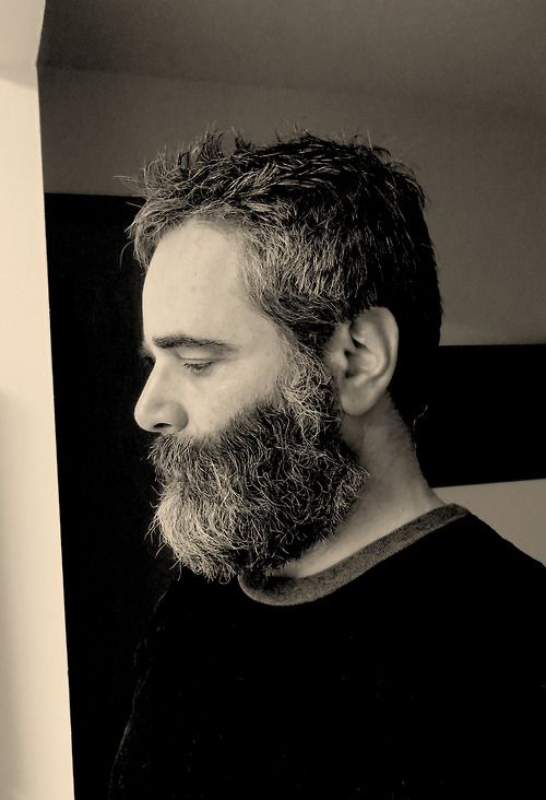 After the shower. Before a trim. | The Bearded Face | Pinterest View ...