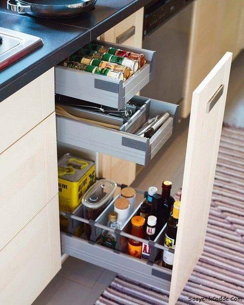 Pin By Jesse Mcallister On Kitchen Kitchen Drawers Diy Kitchen
