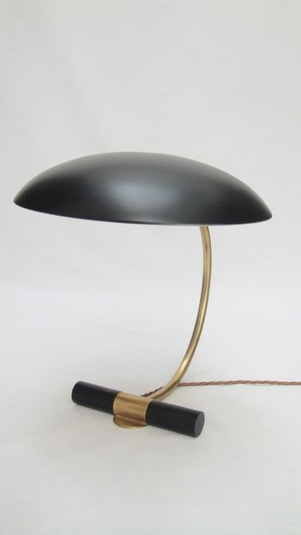 Louis Kalff desk lamp   L & V Art and Design