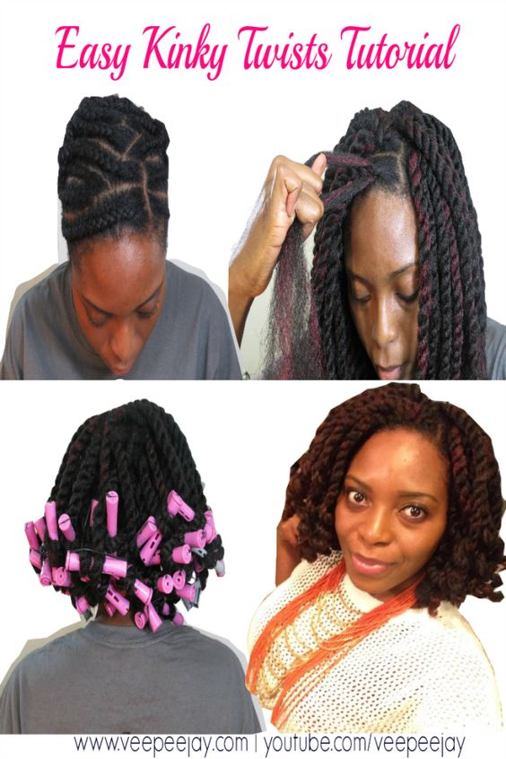 Crochet Hair Tutorial : hairstyle ideas natural hairstyles hair ideas tutorial crochet ...