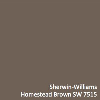 Sherwin Williams Homestead Brown Sw 7515 Hgtv Home By