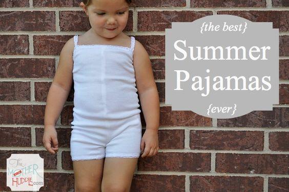 Simple Summer Pajamas