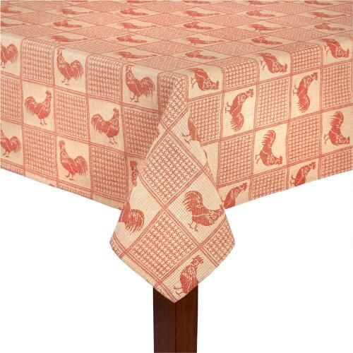 One of my favorite discoveries at ChristmasTreeShops.com: Red Rooster Jacquard…