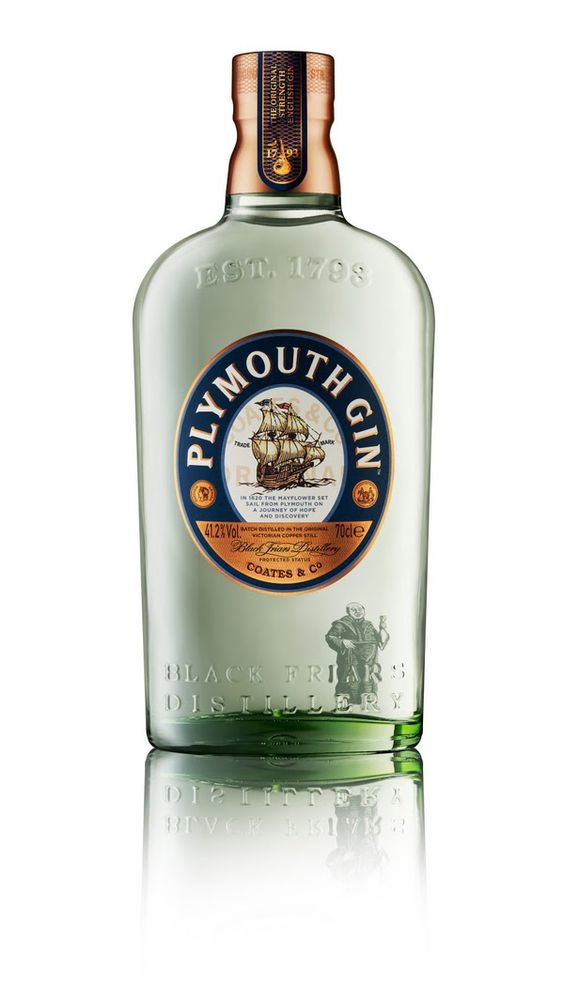 The one that started my love of gin, Plymouth Gin. Another staple, very smooth.