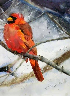 Holiday Designs in July, painting by artist Kay Smith