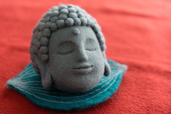 Beautiful needle-felted buddha by maa: http://wp.me/pjlln-2sP #KnitHacker
