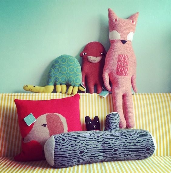 Donna Wilson Creatures at the Little Drom Store in Singapore! http://www.thelittledromstore.com/