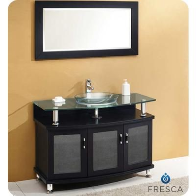 modern bathroom vanity with mirror fvn3317es home depot canada