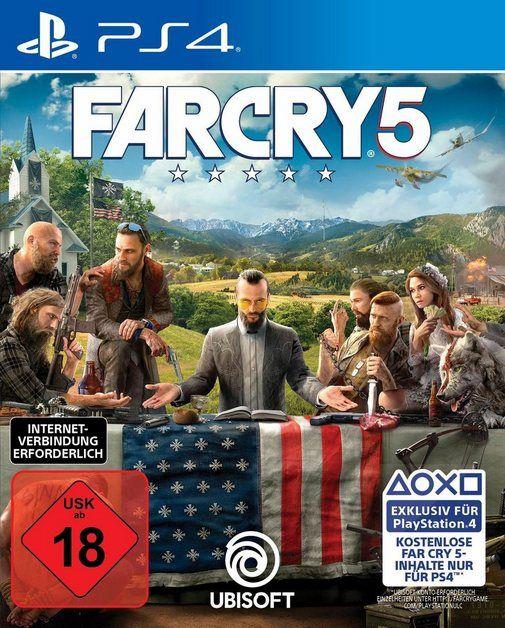 Ubisoft Far Cry 5 Playstation 4 Playstation 4 Die Spieler Stranden In Einem Feindlichen Gebiet Und Mussen Die Gemeinde Um Sich Herum Vereinen Online Kaufen In 2020 Playstation Spiele Gemeinde