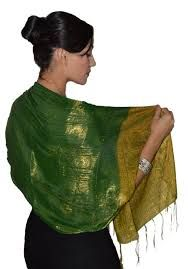 Image result for green and gold shawl