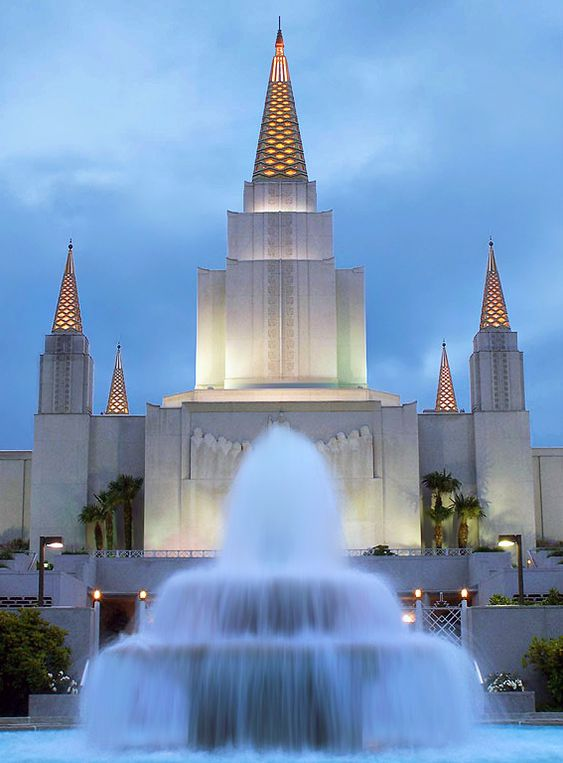 Oakland, California - Mormon Temple.  Go to www.YourTravelVideos.com or just click on photo for home videos and much more on sites like this.