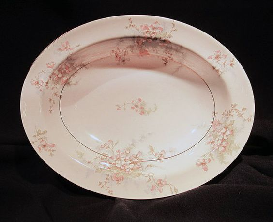 Hey, I found this really awesome Etsy listing at https://www.etsy.com/listing/267550992/theodore-haviland-apple-blossom-oval