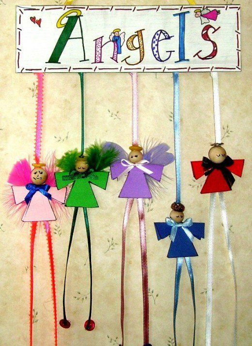 49 Awesome Angel Crafts Project Ideas Angel Ornaments