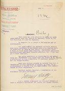 Lettre dactylographiée signée de Gabriel Boissy à Jules Massenet