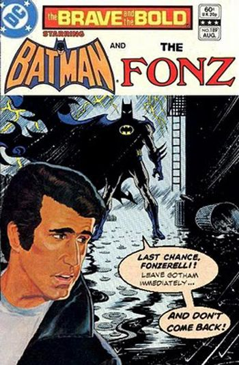 Batman and the Fonz