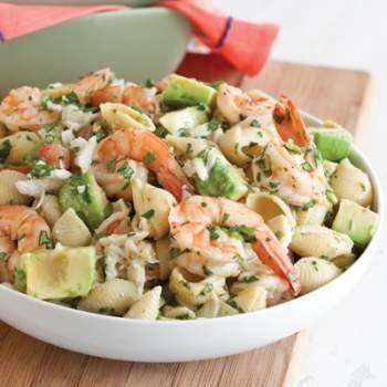 artichoke pasta pasta salad basil shrimp artichokes crabs pasta lemon ...