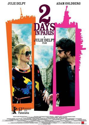 2 dias em Paris; comédia dramática; legendado; 122min
