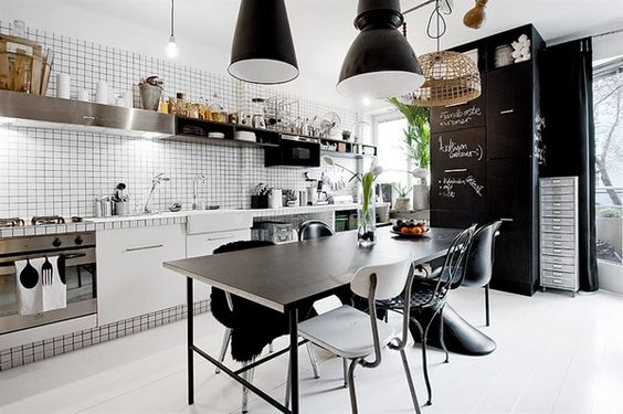 Küche Industrie Inspiriert Pendelleuchten | BB_KITCHEN | Pinterest | Industrial  Style, Industrial And Industrial Chic