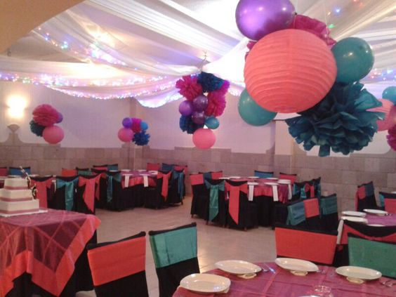 Fiesta de 15 a os decoraci n de salones y mesas para for Pinterest decoracion salones