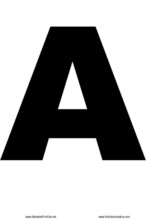 free letter stencils big alphabet letters to print out large alphabet 1250