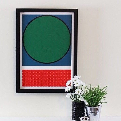 Here's Coundown #screenprint and we have new framing options now available! Choose from white black or natural wooden frames see our #etsyshop Mazeforhome #etsy #etsyuk for more information