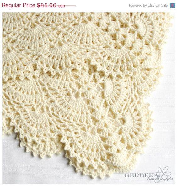 Crochet Baby Blanket Afghan ideal gift for boys by GerberaHandmade ...