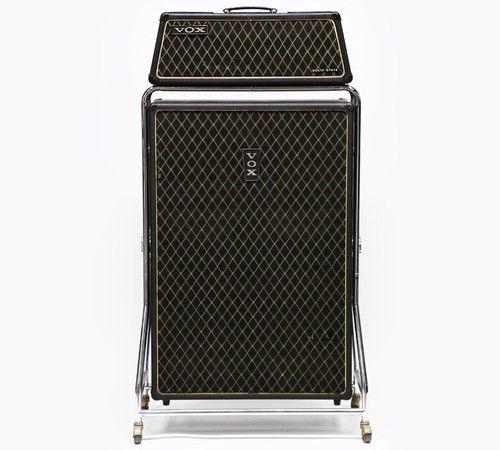1960s vox beatle super reverb v1143 vintage electric bass guitar amp v4141 cab guitar amp. Black Bedroom Furniture Sets. Home Design Ideas