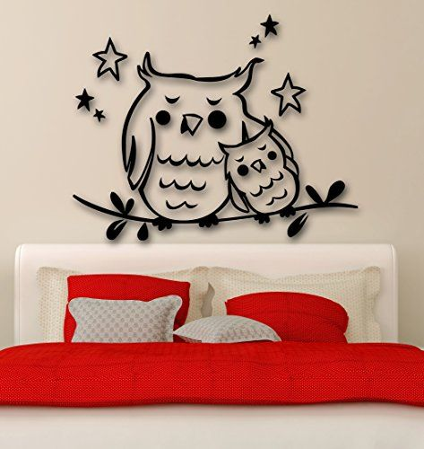 Wall Stickers Vinyl Decal Owl Bird Baby For Bedrooms Stars (ig1568) Wallstickers4you http://www.amazon.com/dp/B00EUCMKDY/ref=cm_sw_r_pi_dp_E2.Xub03TH3R5